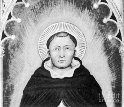 Thomas Aquinas, Italian Philosopher Art Print by Science Source