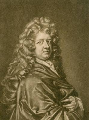 Thomas Betterton C. 1635-1710, Leading Art Print by Everett