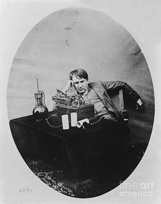 Invention Of Motion Photograph - Thomas Edison, American Inventor by U.S. Department of the Interior
