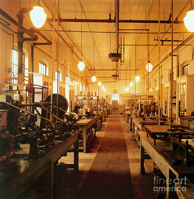 Photograph - Thomas Edisons Laboratory by Science Source