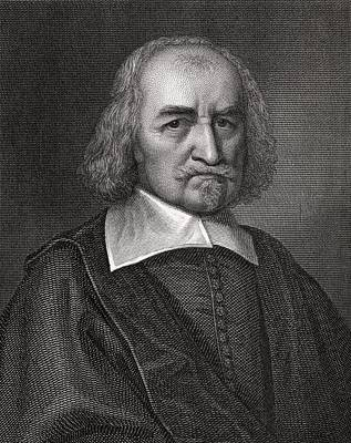 Thomas Hobbes, English Philosopher Art Print by Middle Temple Library