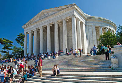 Photograph - Thomas Jefferson Memorial by David Freuthal