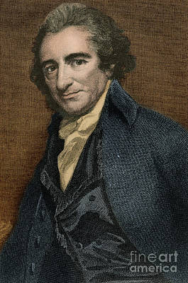 Rights Of Man Photograph - Thomas Paine, American Patriot by Photo Researchers
