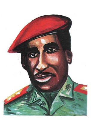 Thomas Sankara Art Print