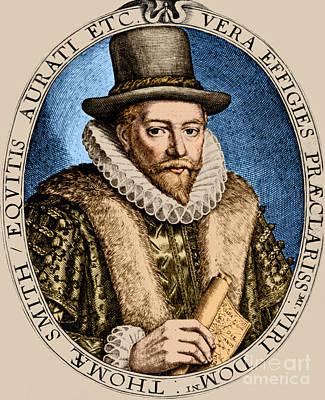 Thomas Smythe, English Merchant Art Print by Photo Researchers