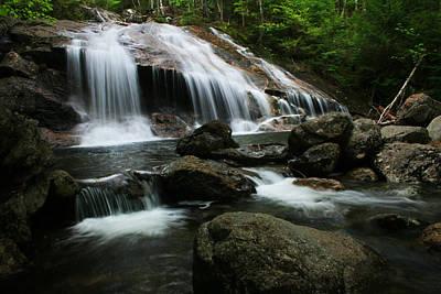 Photograph - Thompson Falls Wmnf by Benjamin Dahl