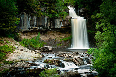 Thornton Force Waterfall 2 Art Print by Andy Comber