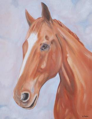 Painting - Thoroughbred by George Pedro