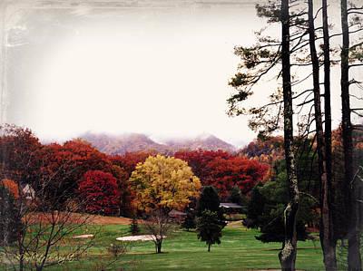 Photograph - Those Glorious Blue Ridge Mountains by Paulette B Wright