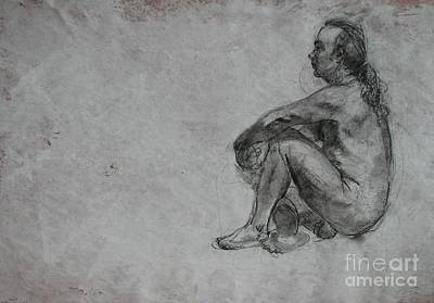 Proportions Drawing - Thought by Julianna Ziegler