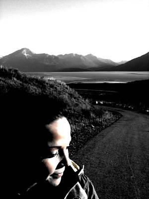 Greenworldalaska Photograph - Thoughtful Girl by Cory Green
