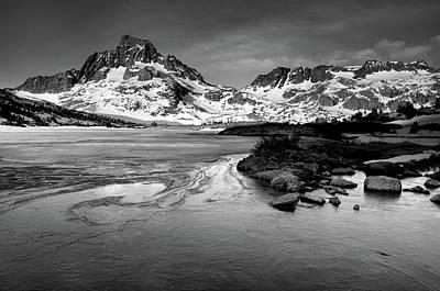 Thousand Island Lake, Mt. Ritter And Banner Peak Art Print by David Kiene