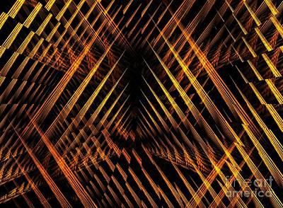 Digital Art - Threat Of War by Yali Shi