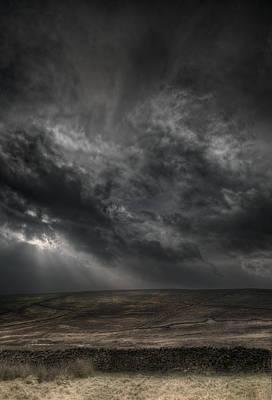 Threatening Skies Art Print