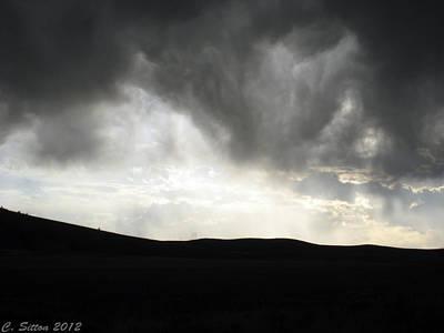 Photograph - Threatening Sky by C Sitton