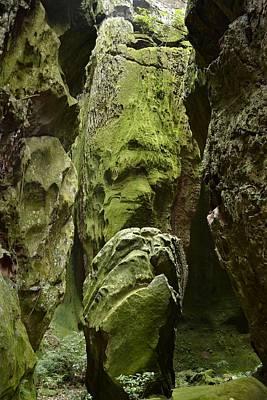 Y120831 Photograph - Three Big Rocks Talking With Small One by Radamés Manosso