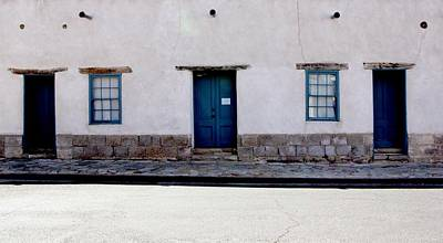 Photograph - Three Doors And Two Windows by Joe Kozlowski