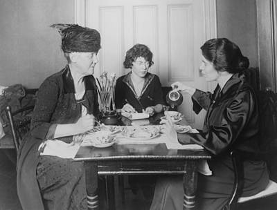 Three Feminists Activists Art Print by Everett