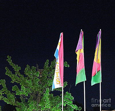 Photograph - Three Flags by Renee Trenholm