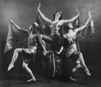 Three Graces Art Print by Archive Photos