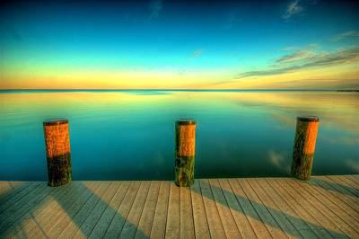 Maryland Photograph - Three Pillars by Photograph by Arunsundar