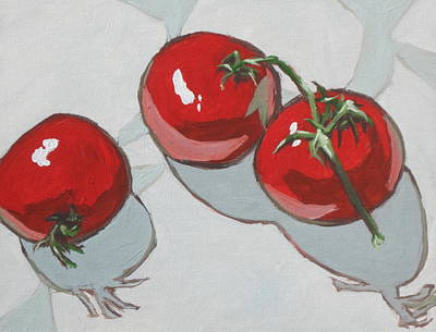 Painting - Three Toms by Sandy Tracey
