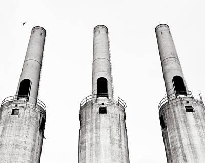 Asbestos Digital Art - Three Towers Of The G.o.w. by John Magnoski