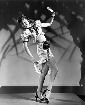 Hoop Earrings Photograph - Thrill Of Brazil, Ann Miller, 1946 by Everett