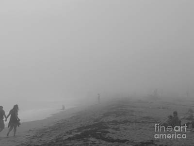 Photograph - Through Fog And Haze by Venura Herath