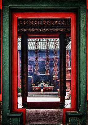 Photograph - Through The Chinese Doors by Zoe Ferrie