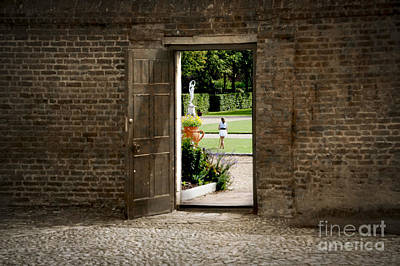 Through The Garden Gate Art Print by Donald Davis