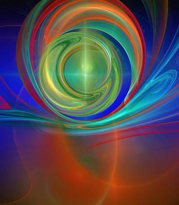 Digital Art - Through The Mind's Eye by Ricky Barnard