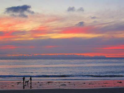 Laguna Beach Photograph - Throw The Stick by Linda Larson