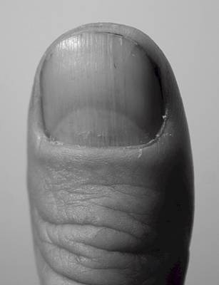 Thumb Art Print