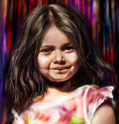 Digital Art - Thumbelina by Parag Pendharkar