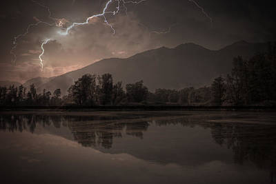 Switzerland Photograph - Thunder Storm by Joana Kruse