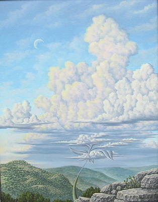 Thunderblossom Art Print by Arley Blankenship