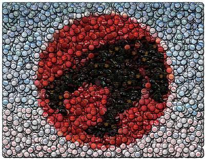 Thundercats Digital Art - Thundercats Bottle Cap Mosaic by Paul Van Scott