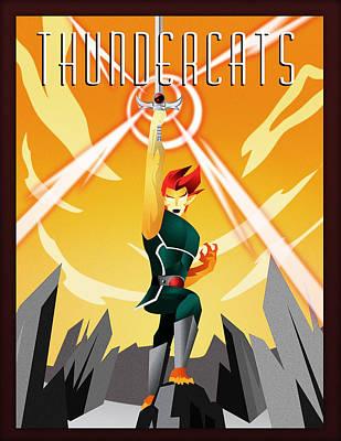 Thundercats Digital Art - Thundercats by Felipe Romano