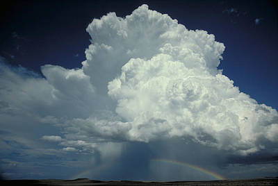 Photograph - Thunderclouds And Rinbow by Garry McMichael