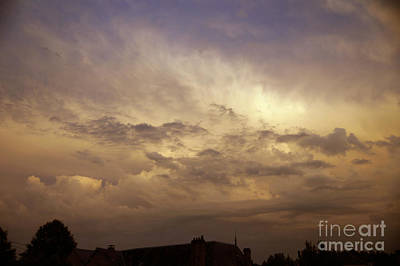 Photograph - Thunderclouds by Rod Jones