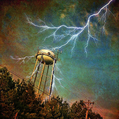 Photograph - Thundering Bolts by Gene Hilton