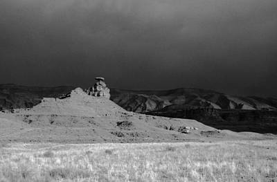 A2 Photograph - Thunderstorm Mexican Hat Ut by Troy Montemayor