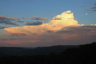 Photograph - Thunderstorm Over Deerfield River Valley Berkshires by John Burk