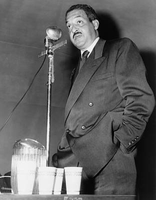 Thurgood Marshall, Then Chief Counsel Print by Everett