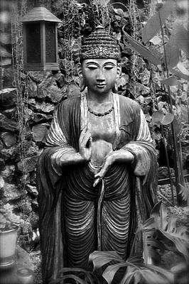 Photograph - Tibetan Buddha by Karon Melillo DeVega