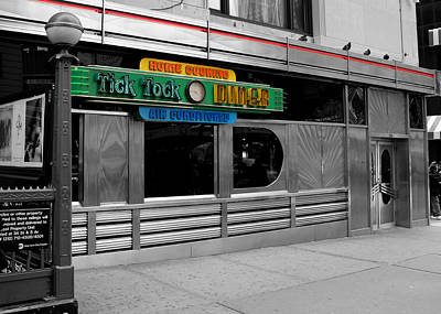 Photograph - Tick Tock Diner  by Andrew Fare