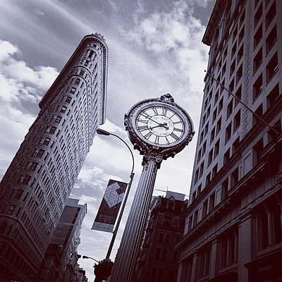 Manhattan Wall Art - Photograph - Tick Tock by Randy Lemoine