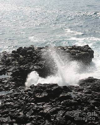 Photograph - Tidal Spike by Anthony Trillo