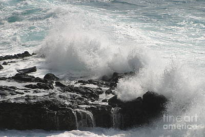 Photograph - Tidal Spray by Anthony Trillo
